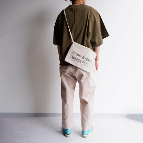 50S〜60S fabric /vintage Bank bag /Re.Sacoche/③