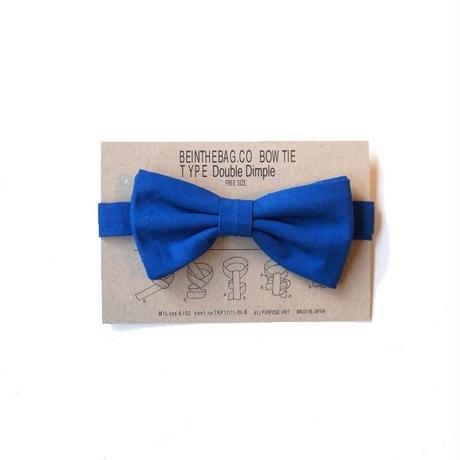 BIB(ビブ)/Bow tie 高密度ウェザー BLUE