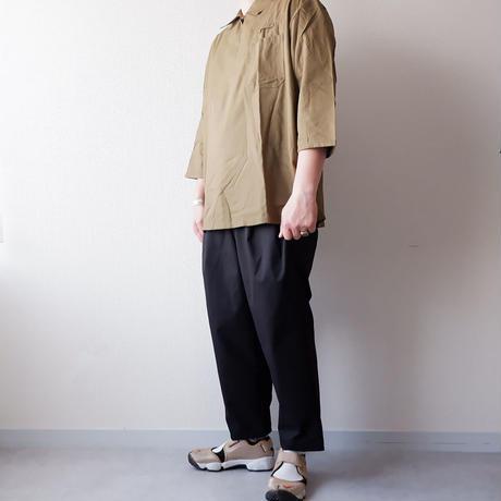 【FROM EURO】 チェコ軍 3/4 SLEEVE/プルオーバー ワークシャツ/dead stock