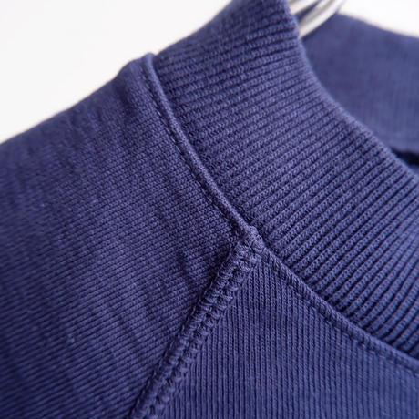 Jackman(ジャックマン)/Jackman X Lavenham LS T-Shirt/度詰め長袖Tシャツ/Harbour Blue