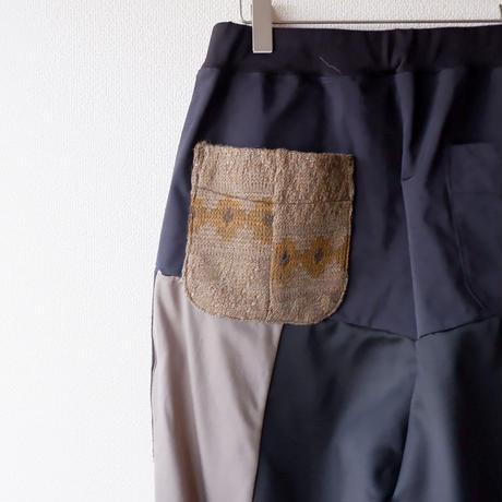 【別注 】masterkey(マスターキー)/Remake wide Jersey trousers-3