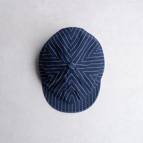 HIGHER(ハイヤー)/9oz HICKORY POSTMAN CAP /TYPE-A