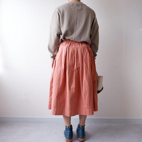 【新色】TIGRE BROCANTE( ティグルブロカンテ)/  ジンバブエポケットフィセルスカート/チャイ