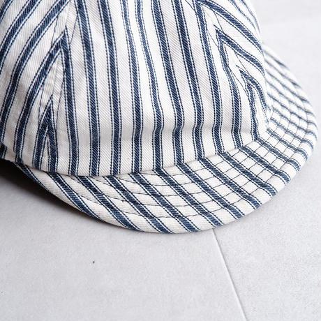 HIGHER(ハイヤー)/9oz HICKORY POSTMAN CAP/TYPE-B