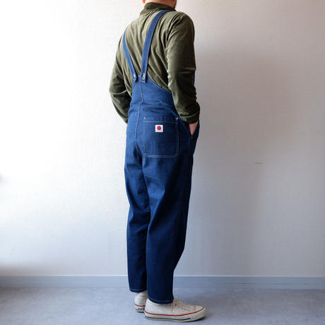 TIGRE BROCANTE (ティグルブロカンテ)/11oz denim over pants/overall
