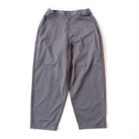 KAFIKA (カフィカ)/ワイドテーパードパンツ/cool max/charcoal grey