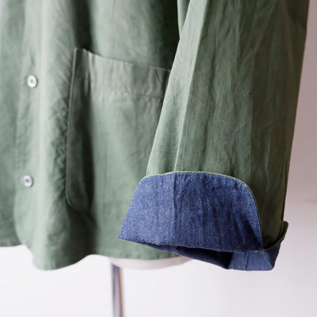 SLOW HANDS(スローハンズ)/Rcl tent painter jacket/Olive-M