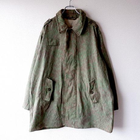【秋のミリタリー】チェコスロバキア軍 /レインドロップカモジャケット/used/A