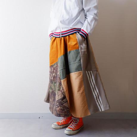【別注 Ladys】masterkey(マスターキー)/Walk Around/マキシロングスカート/mulch-6