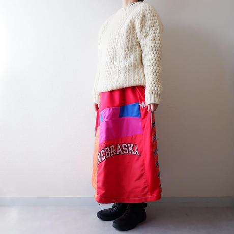 【別注 Ladys】masterkey(マスターキー)/Walk Around/マキシロングスカート/mulch-1