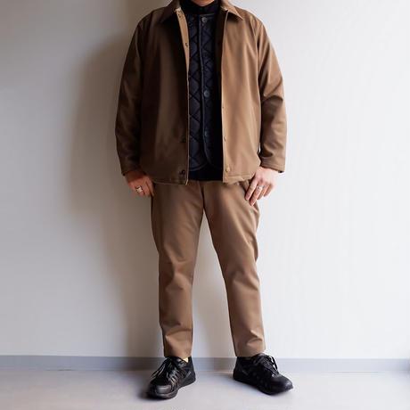 Jackman(ジャックマン)/High-density Jersey Coach Jacket/Deep Beige