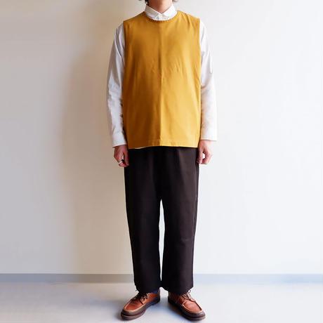 TIGRE BROCANTE (ティグルブロカンテ)/Feather天竺 Over Vest/Sand