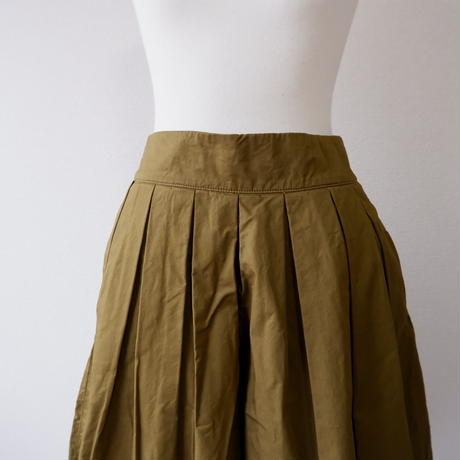 HARVESTY (ハーベスティ)/CULOTTES PANTS/Moss Green