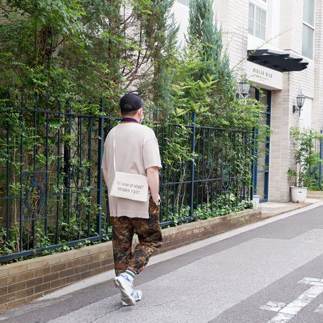 50S〜60S fabric /vintage Bank bag /Re.Sacoche/⑧