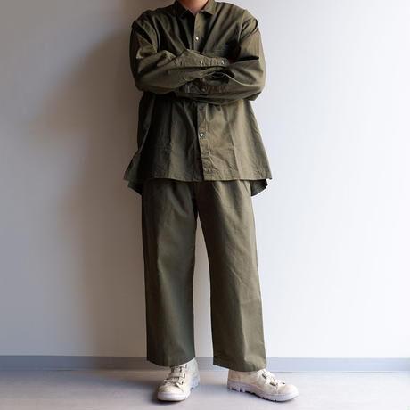 catta(カッタ)/2TUCK BAGS EASY PANTS-VINTAGE CHINO /KHAKI