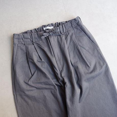 catta(カッタ)/2TUCK BAGS EASY PANTS-VINTAGE CHINO/GRAY