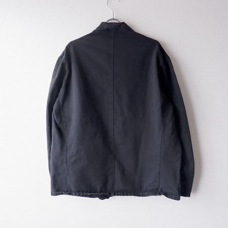 【Black-overdye】euro work tailored jacket