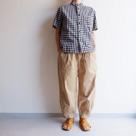 【最後の1着/サイズS】TIGRE BROCANTE(ティグルブロカンテ)/コードストライプサムライパンツ/ベージュ