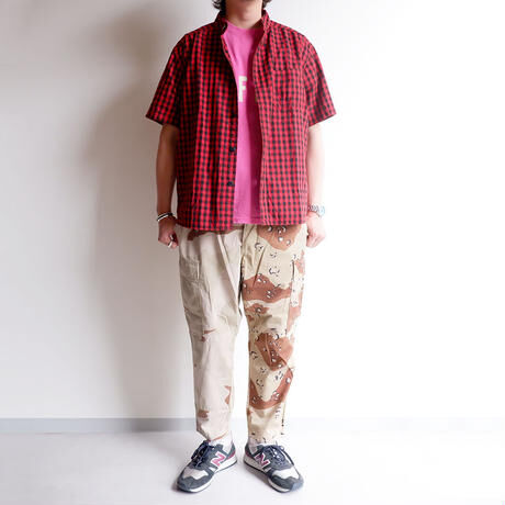 MADE  by Sunny side up(サニーサイドアップ)/2for1  cargo pants/3C camo×chocotip