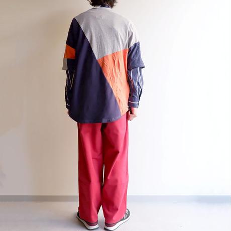Nasngwam(ナスングワム)/PUZZLE TEE/mulch-M-2
