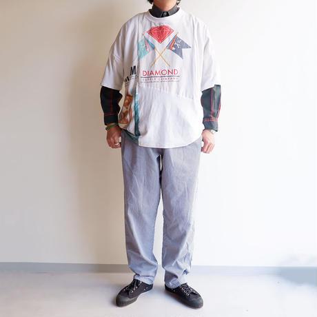 Nasngwam(ナスングワム)/PUZZLE TEE/White-M-2