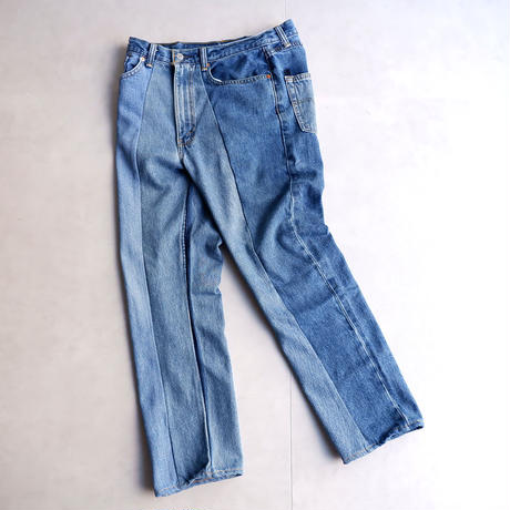 MADE  by Sunny side up(サニーサイドアップ)/3for1 Re denim pants/3-1