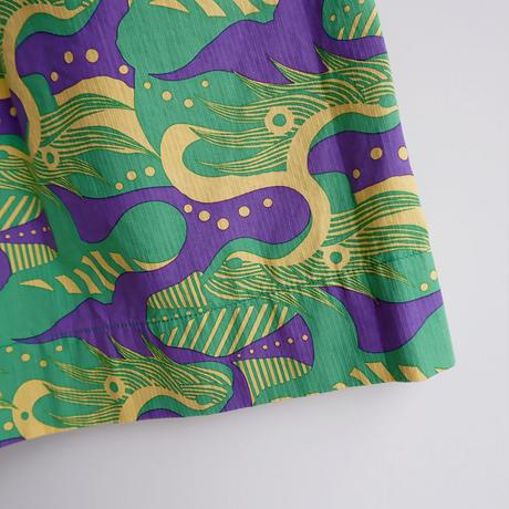 TIGRE BROCANTE( ティグルブロカンテ)/ドラゴンコードポケットフィセルスカート/Green
