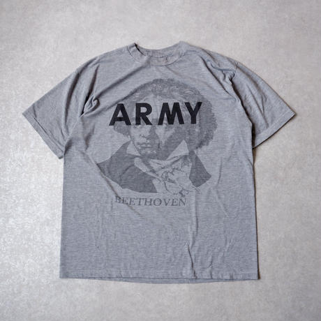 BEETHOVEN ARMY T SHIRT /ベートーヴェンアーミーTシャツ/size L