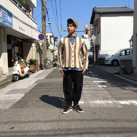 "Nasngwam (ナスングワム) /""OAXACA CARDIGAN""/natural"