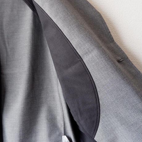 Jackman(ジャックマン)/Stretch Jacket/gray-herringbone