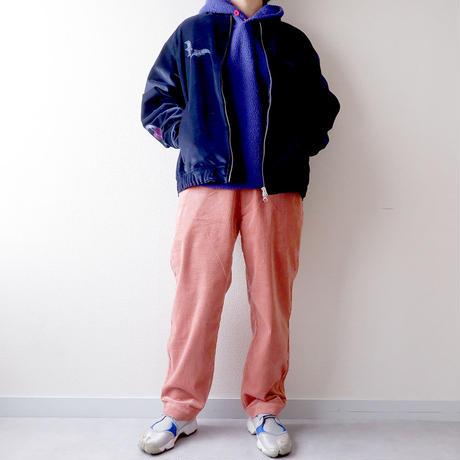 weac.(ウィーク)/コーデュロイ/POPEYE PANTS/ポパイパンツ/pink