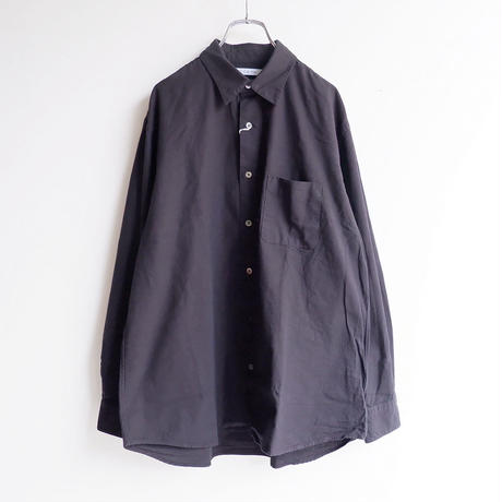 catta(カッタ)/REGULAR FIT GATHER SHIRTS/BLACK