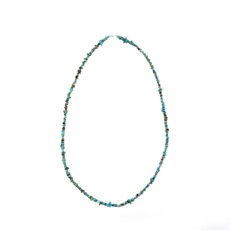 INDIAN JEWELRY/NAVAJO TURQUOISE NECKLACE/long