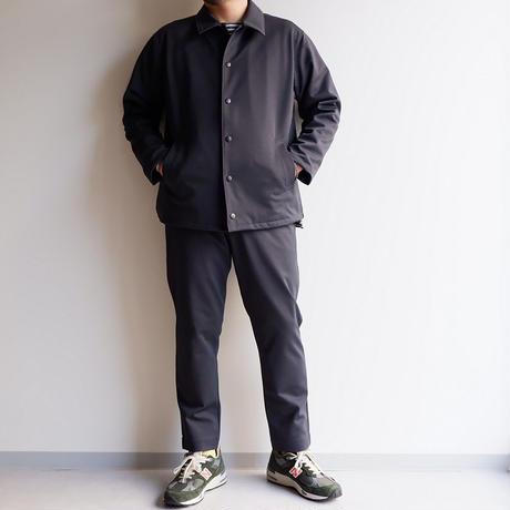 Jackman(ジャックマン)/  High-density Jersey Coach Jacket/Deep Charcoal