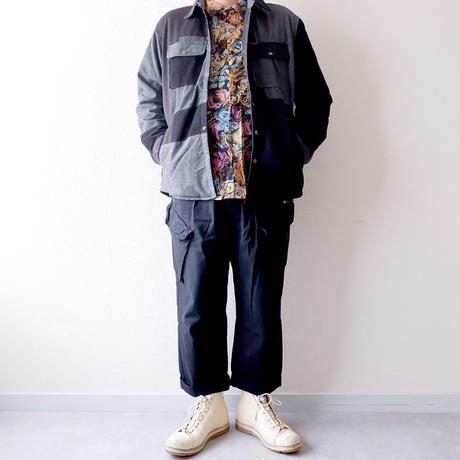 Nasngwam(ナスングワム)/WINTER SKELTER JACKET/Black