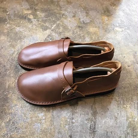【FROM EURO】dead stock leather shoes/belt