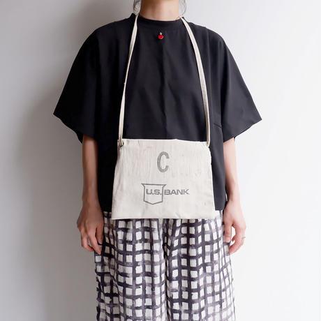 50S〜60S fabric /vintage Bank bag /Re.Sacoche/②