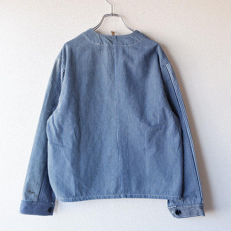 【New Design】SUNNY SIDE UP(サニーサイドアップ) /Remake engineer jacket/hickory/3-M