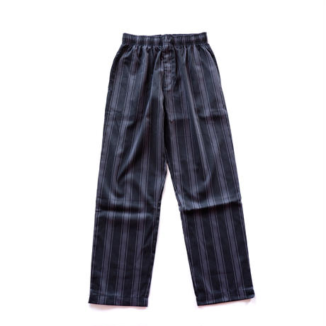 ☆USAよりコックパンツ入荷☆stripe cook pants /black×charcoal gray