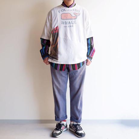 Nasngwam(ナスングワム)/PUZZLE TEE/White-M-3