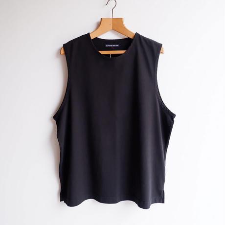 TIGRE BROCANTE (ティグルブロカンテ)/Feather天竺 Over Vest/Black