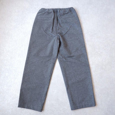 BRENA(ブレナ)/MELTON COQ PANTS/グレー
