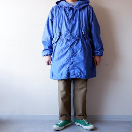 【モッズコート】US ARMY/ SNOW CAMOUFLAGE PARKA/後染め/ROYAL/cotton×nylon