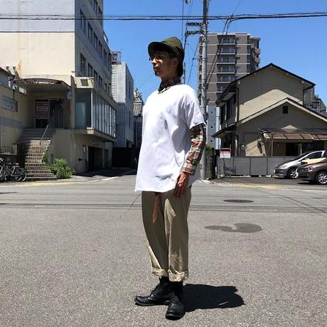 TRAINER BOYS( トレーナーボーイズ) /ALL  ROUND T/White×White