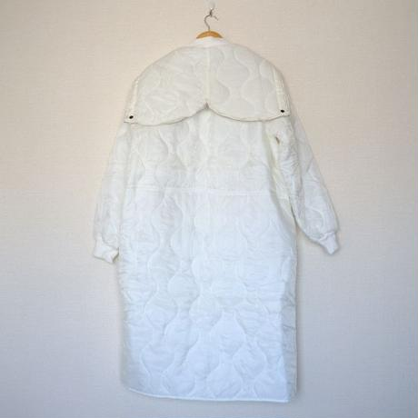 【From USA】/Snow camo quilting liner parka/dead stock