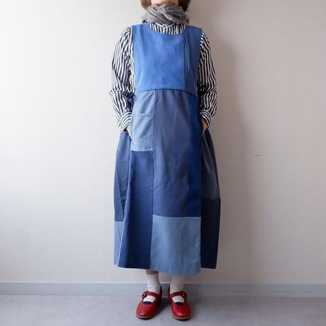 TIGRE BROCANTE(ティグルブロカンテ)/Remake euro work mix army切替ワンピース/A