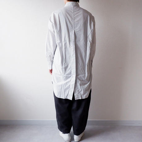 "CAERULA (カエルラ)/""50S broad back vents shirts""/gray"