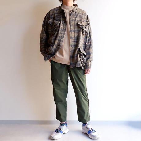 Jackman(ジャックマン)/Jackman X Lavenham LS T-Shirt/度詰め長袖Tシャツ/Natural Clay