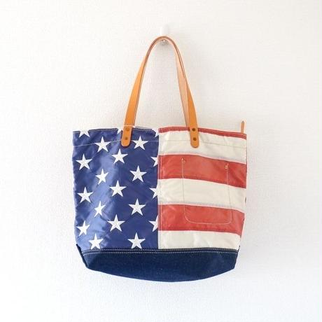 yoused(ユーズド)/Remake US flag tote Bag