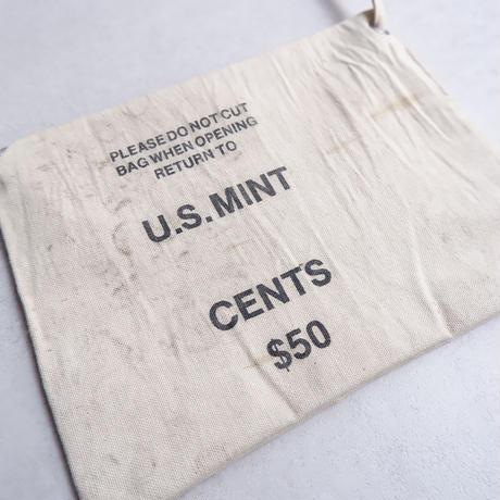 50S〜60S fabric /vintage Bank bag /Re.Sacoche⑤